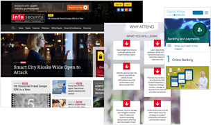 Examples of responsive websites from Intuitiv